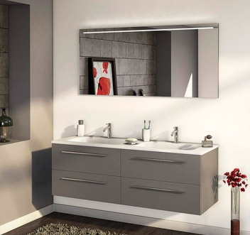 Meuble salle de bain ubaldi - Meuble salle de bain style ancien ...