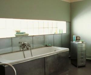 meuble salle de bain zinc