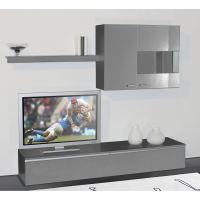 meuble tv bas gris