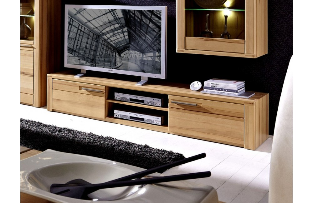 Meuble tv angle hetre sammlung von design for Meuble bas tv angle