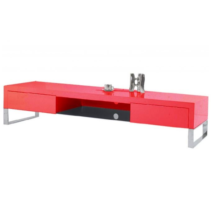 Chaise de bureau industriel for Meuble bureau rouge