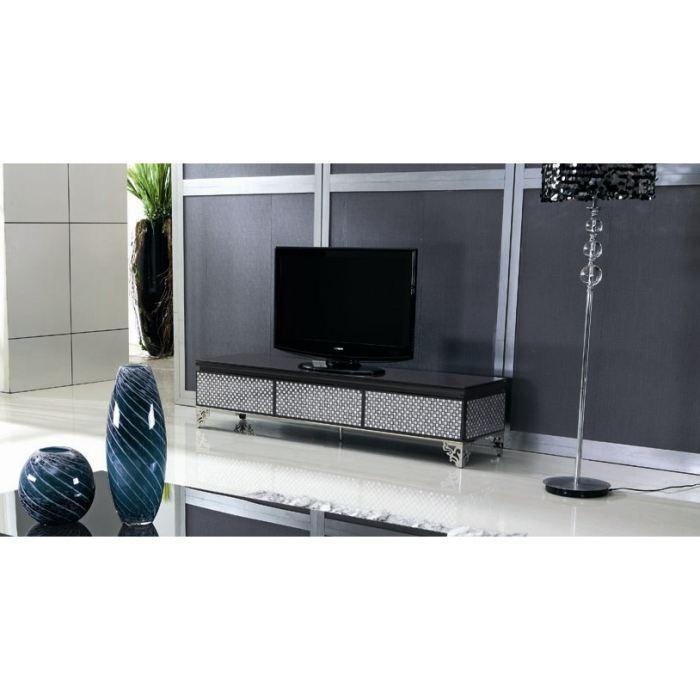 Meuble tv en verre haut de gamme - Meuble haut tv ...