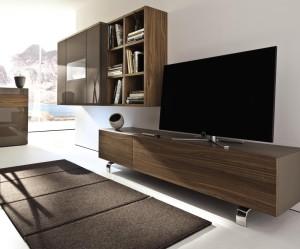 meuble tv en verre haut de gamme