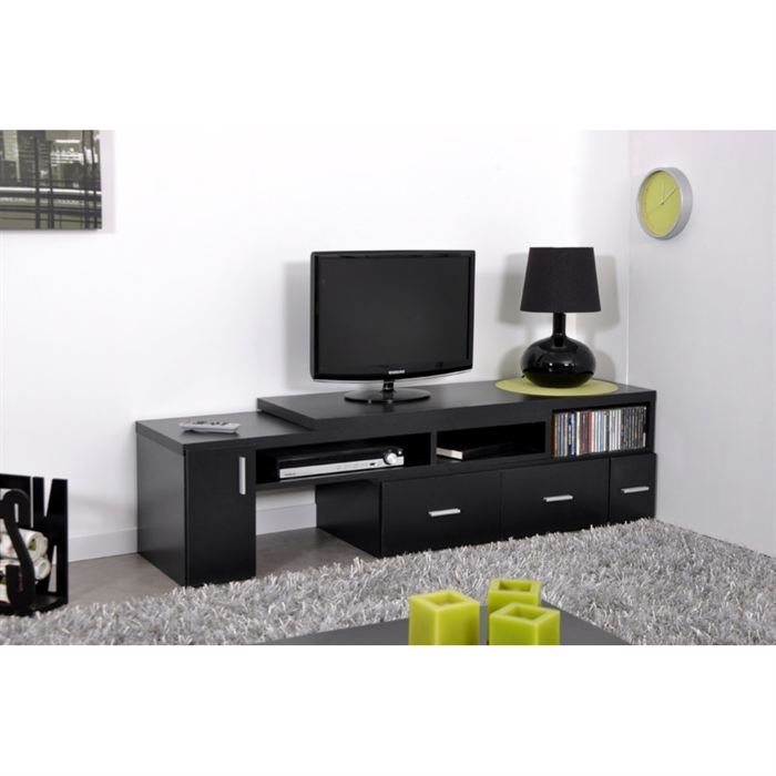meuble tv haut pour chambre. Black Bedroom Furniture Sets. Home Design Ideas