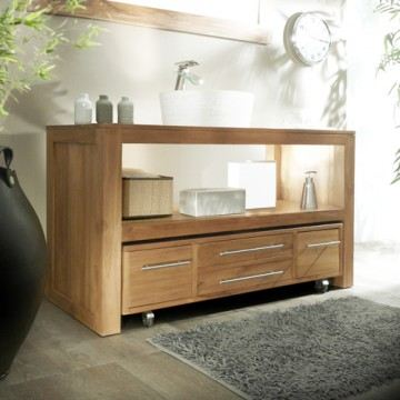 Meuble vasque bois pas cher - Mobilier de salle de bain pas cher ...