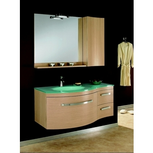 meuble vasque verre salle de bain. Black Bedroom Furniture Sets. Home Design Ideas