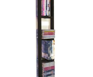 rangement cd dvd mural