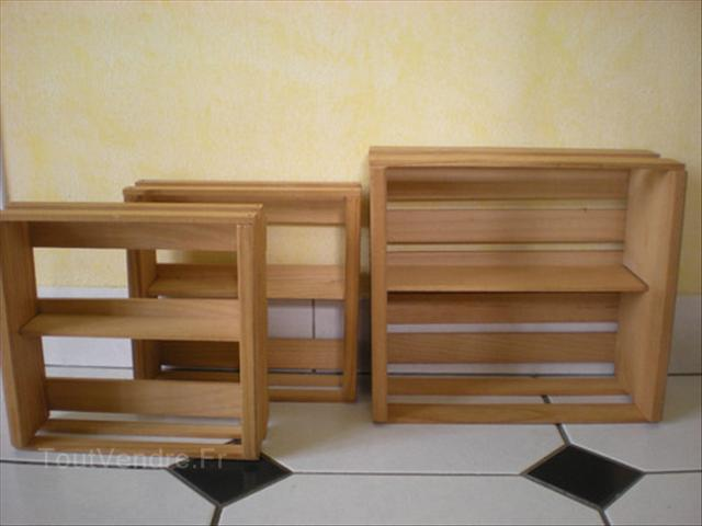 rangement cd en bois. Black Bedroom Furniture Sets. Home Design Ideas