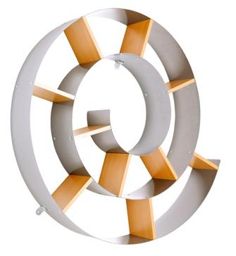 rangement cd escargot
