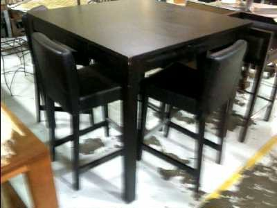 table a manger haute ikea. Black Bedroom Furniture Sets. Home Design Ideas