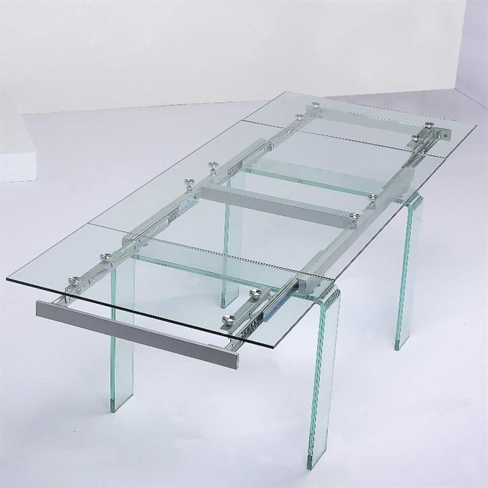 Table Verre A Manger Extensible Photo OXiPukZwTl