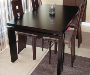 table a manger wenge