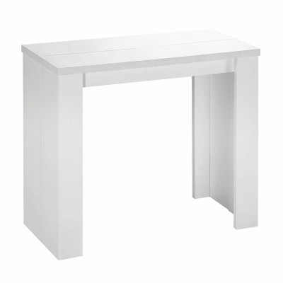 Table a rallonge console ikea for Console meuble ikea