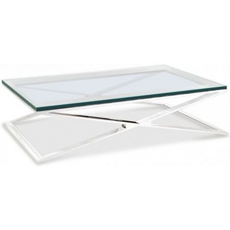 Table basse design verre - Table basse en verre modulable ...