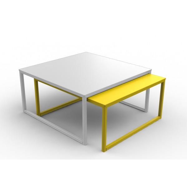 table basse jaune en ligne