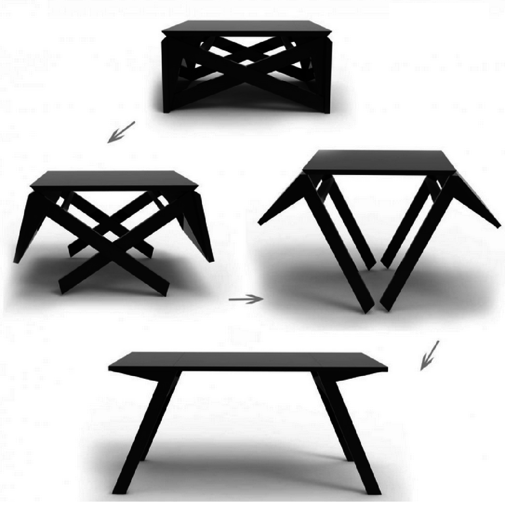 table basse qui devient table manger. Black Bedroom Furniture Sets. Home Design Ideas