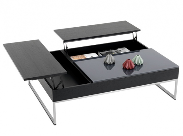 Table de salon transformable ikea maison design for Ikea table basse relevable