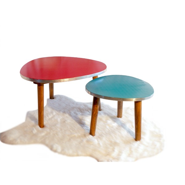 Table basse tripode for Table basse tripode