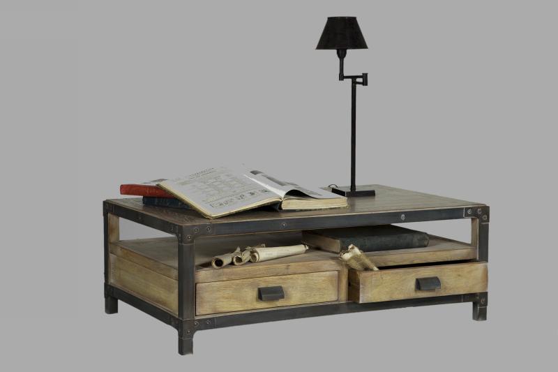 Idee Table Basse Usine