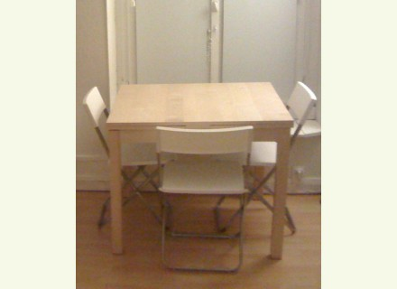 Table console extensible ikea occasion - Table console extensible laque ...