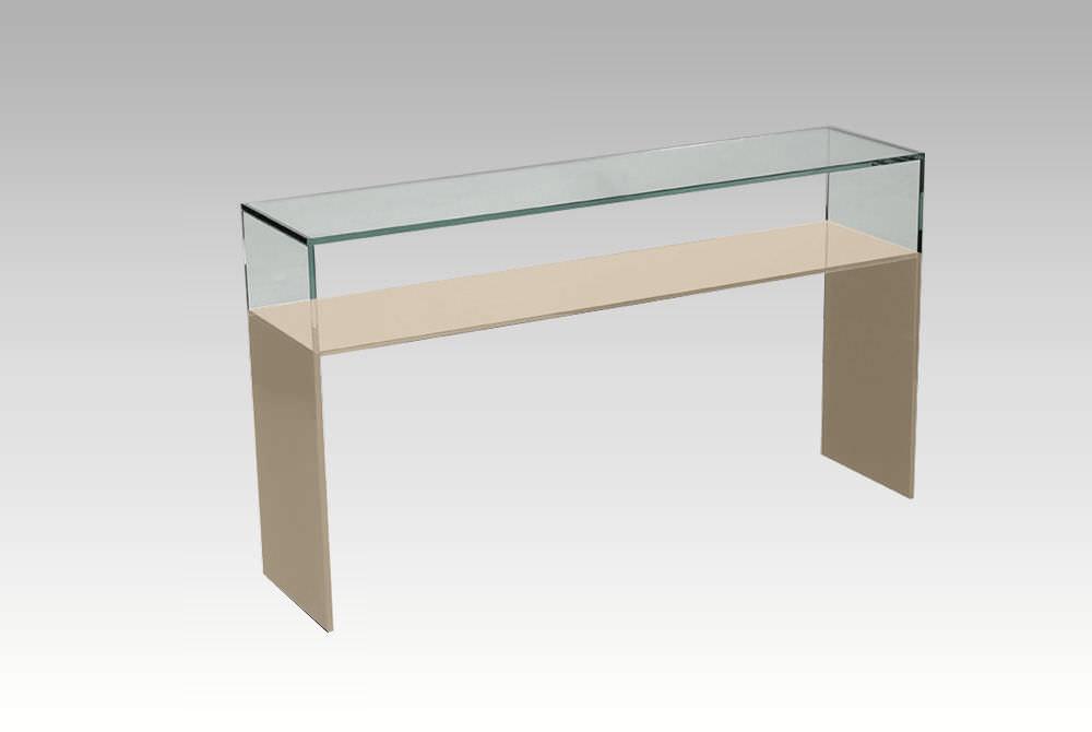 Table console verre trempe - Console verre trempe ...