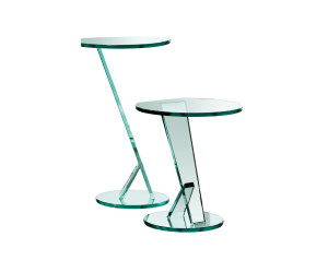 table d'appoint en verre design