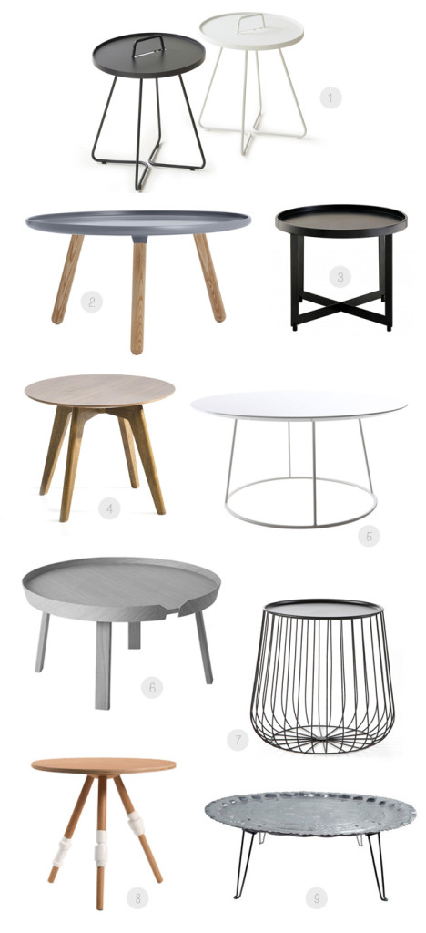 Table d 39 appoint fly - Fly table basse ronde ...