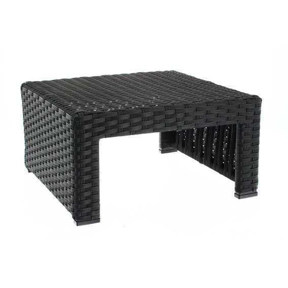 Awesome Table Basse De Jardin En Resine Tressee Noire Contemporary ...