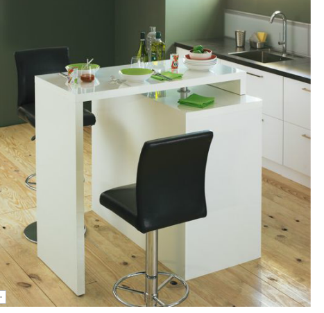 Table de bar modulable - Table cuisine modulable ...