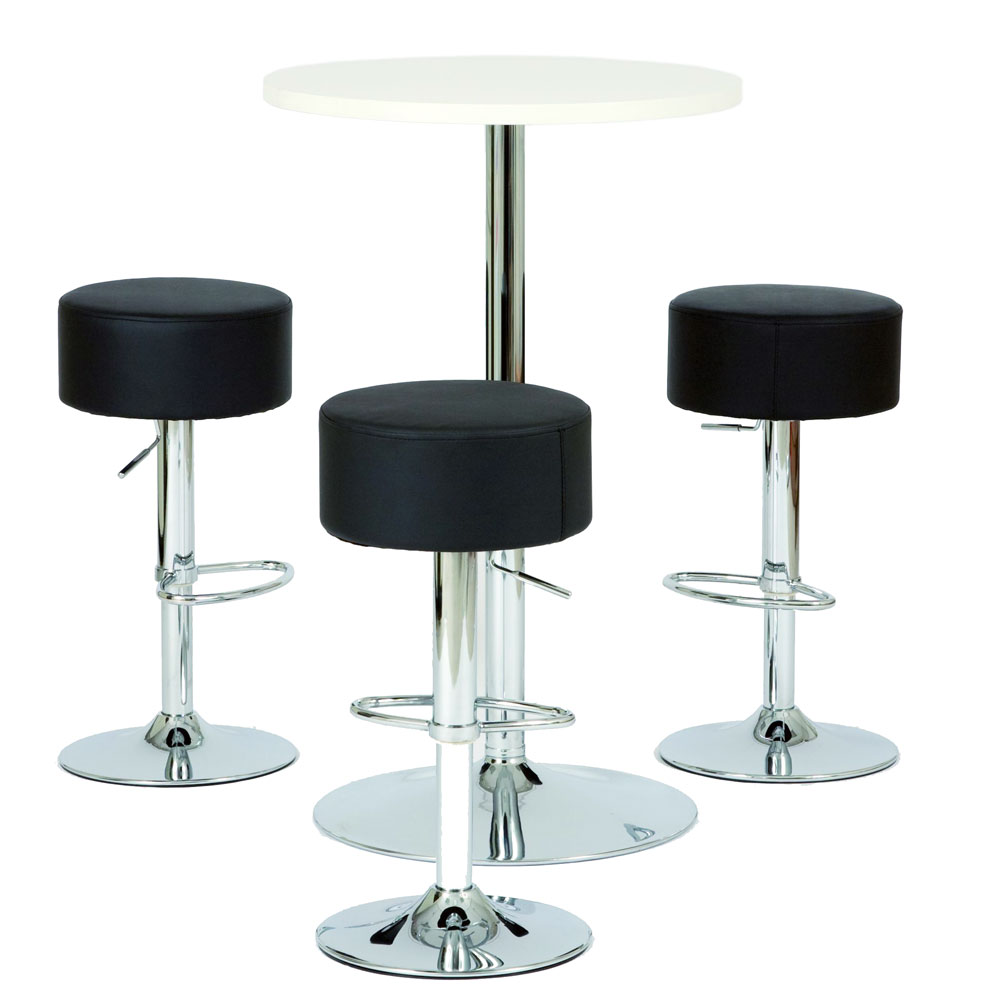 Table ronde ligne rose acheter en ligne table ronde for Table ronde de bar