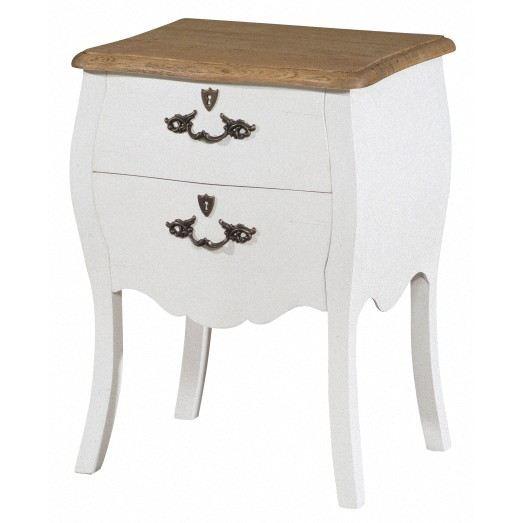 Table de chevet blanc laqu pas cher cool comforium table - Table de nuit pas cher ...