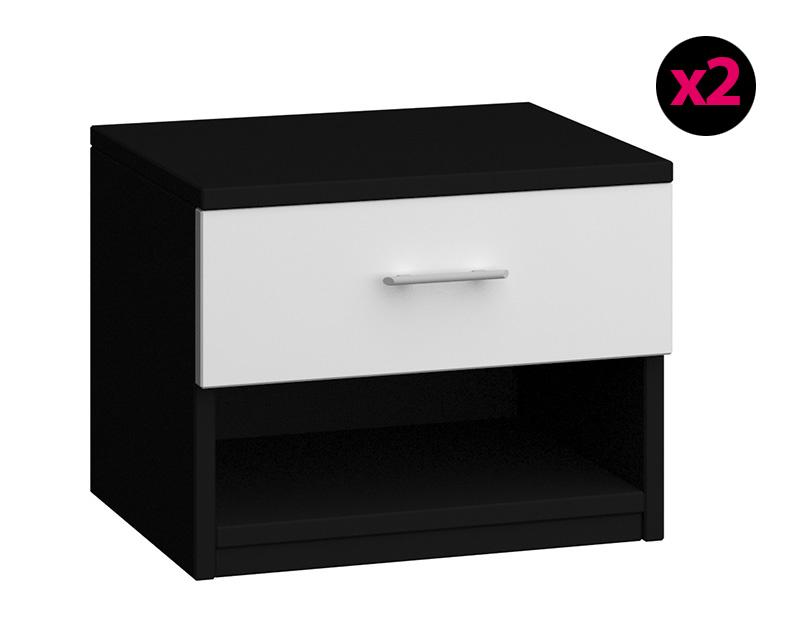 Et Chevet Photo Table De Noir Blanc e29WIYEDH