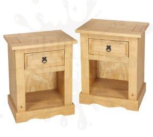 table de chevet pin. Black Bedroom Furniture Sets. Home Design Ideas