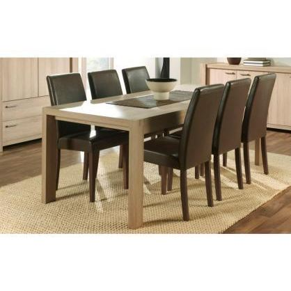 table salle a manger cdiscount. Black Bedroom Furniture Sets. Home Design Ideas