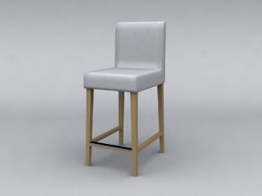 Tabouret de bar henriksdal for Housse de tabouret de bar