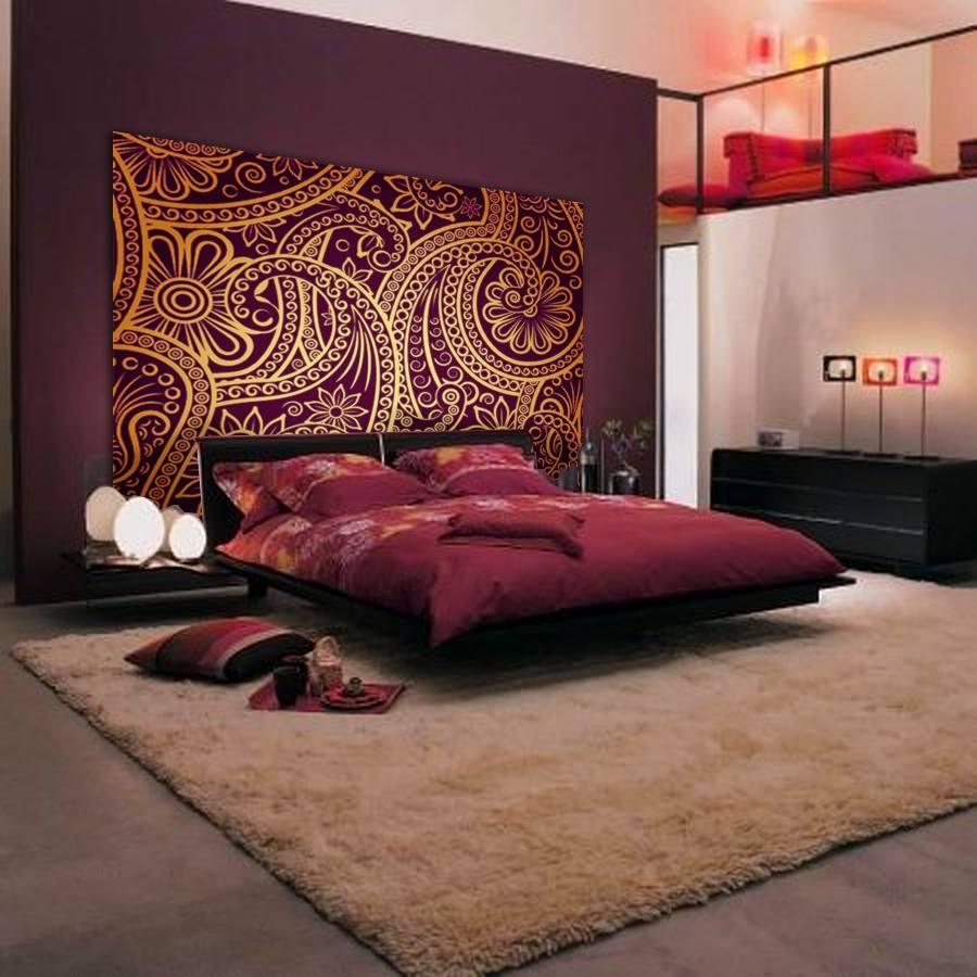 tete de lit indienne hollandschewind. Black Bedroom Furniture Sets. Home Design Ideas