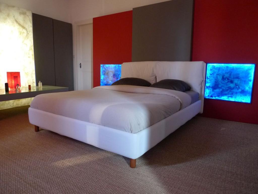 Tete de lit fabriquer bois fabriquer tete de lit bois - Fabriquer fausse fenetre lumineuse ...