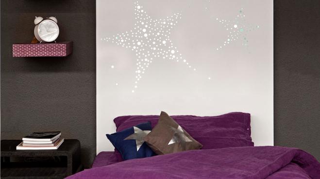 Tete de lit lumineuse - Confectionner une tete de lit ...
