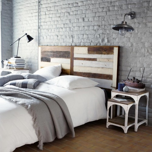 tete de lit maisons du monde. Black Bedroom Furniture Sets. Home Design Ideas
