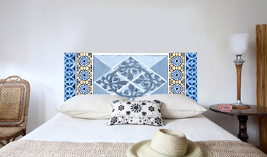 tete de lit orientale. Black Bedroom Furniture Sets. Home Design Ideas