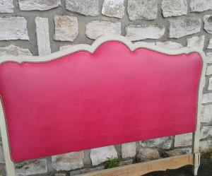 tete de lit rose