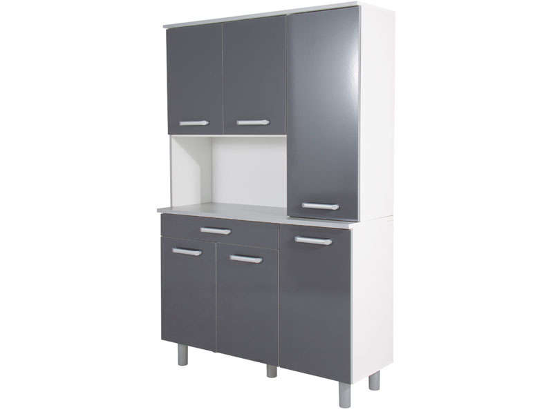 Buffet de cuisine conforama occasion for Buffet de cuisine gris
