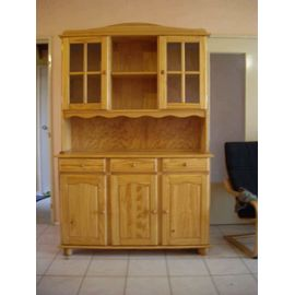 Buffet de cuisine en pin conforama for Buffet cuisine en bois