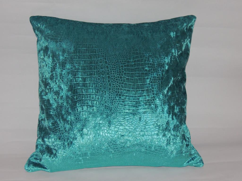 Idee Coussin Deco Bleu Turquoise
