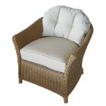 fauteuil de salon en rotin