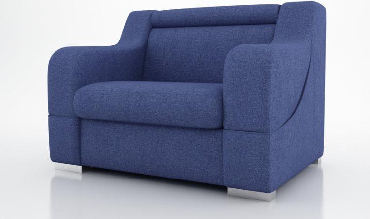 Connu fauteuil de salon en tissus ZA16