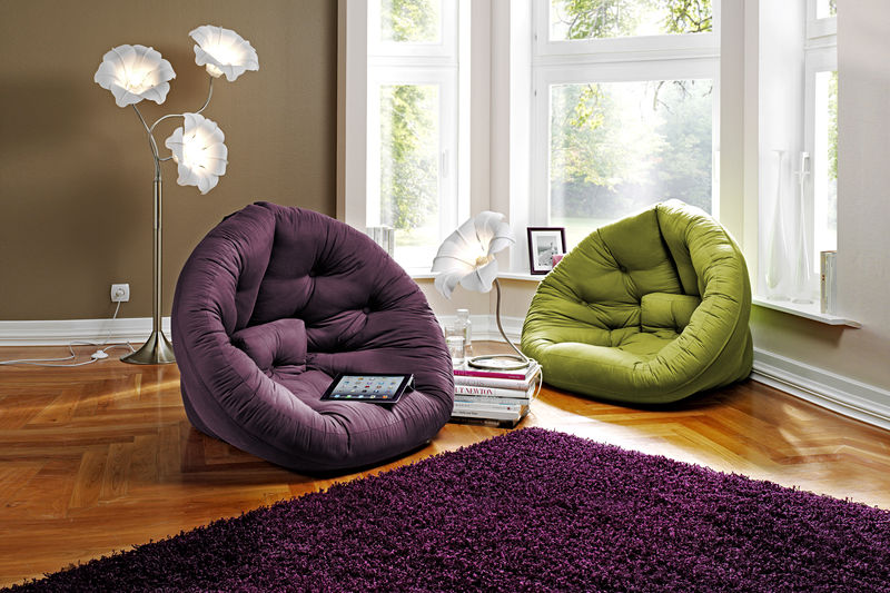 Fauteuil rond salon for Divan de coin