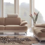 fauteuil salon beige