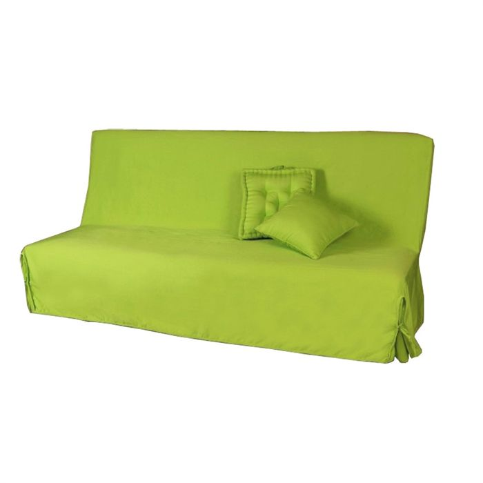 Housse de canape vert anis for Housse pour canape bz