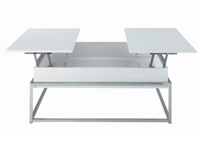 Table basse relevable ikea for Table de salon escamotable